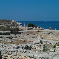 Photo taken at Chersonesus by Настя Г. on 8/11/2013