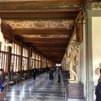 Photo taken at Uffizi Gallery by Evgeniya N. on 4/3/2013