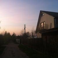"Photo taken at СНТ ""Строитель"" by Max K. on 5/9/2013"