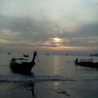 Photo taken at Ao Nang Beach by Aminuddin A. on 12/27/2012