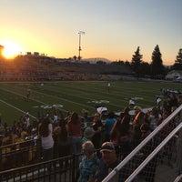 Photo taken at Memorial Stadium by Mike W. on 9/10/2016