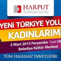 Photo taken at Elazığ Belediyesi Kültür Merkezi by Seda G. on 3/5/2015