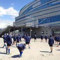 Photo taken at Arena Shayba by Evgeniya B. on 4/23/2013