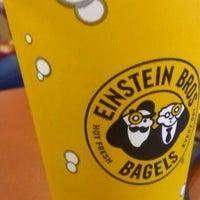 Photo taken at Einstein Bros Bagels by David M. on 11/30/2012