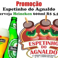 Photo taken at Churrasquinho do Agnaldo by Rychardson S. on 8/9/2013