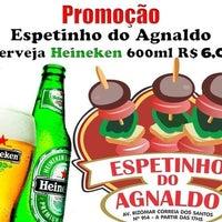 Photo taken at Churrasquinho do Agnaldo by Rychardson S. on 11/5/2013
