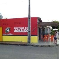 Photo taken at Churrasquinho do Agnaldo by Rychardson S. on 8/31/2013
