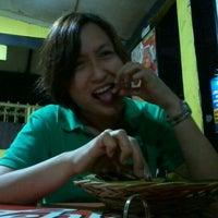 "Photo taken at Bebek Ireng Suroboyo ""Cak Baz"" by Doddy M. on 1/25/2013"