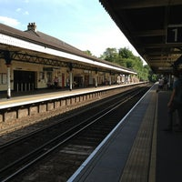 Photo taken at Winchester Railway Station (WIN) by Michael R. on 7/13/2013