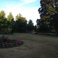 Photo taken at Queens Gardens by Michael R. on 7/25/2013