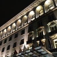Photo taken at Sofia Hotel Balkan by Jordan M. on 11/24/2012