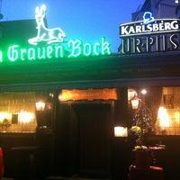 Photo taken at Zum grauen Bock by eunyoung c. on 3/11/2014
