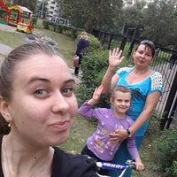 Photo taken at детская игровая площадка Дачный 9 корп.3 by Alexandra V. on 8/30/2013