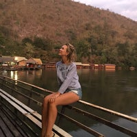 Photo taken at River Kwai Jungle View Resort by Марина Ш. on 1/29/2017