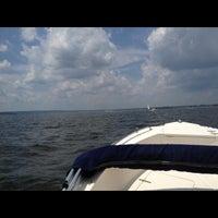 Photo taken at Narragansett Bay by Taylor B. on 7/7/2013