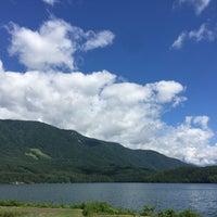 Photo taken at 青木湖 by Shin〜comeback グ. on 7/23/2018