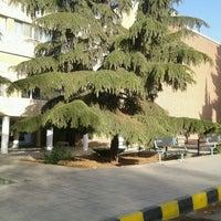 Photo taken at University of Jordan - Geology Department by Sa3eedove on 4/6/2013