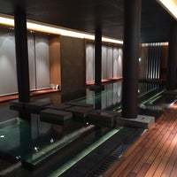 Photo taken at The Spa at The Chedi by Mark Y. on 3/20/2014