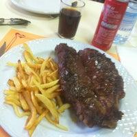 Photo taken at Restaurante Granja Mari by Rafa A. on 4/14/2013
