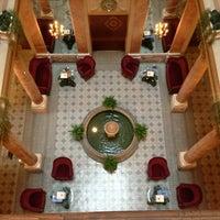 Photo taken at Hotel Beau-Rivage by Matt M. on 1/29/2013