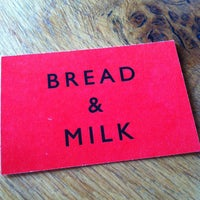 Photo taken at Bread and Milk by Todd T. on 12/13/2014