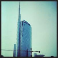Photo taken at Unicredit Tower by Tatiana G. on 4/18/2013