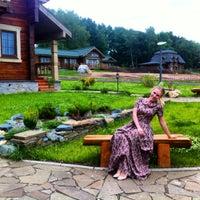 Снимок сделан в Welna Eco Spa Resort пользователем Вера С. 6/26/2014