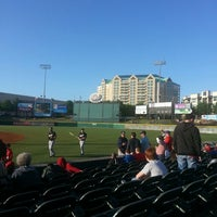 Photo taken at Dr Pepper Ballpark by Chris A. on 5/3/2013