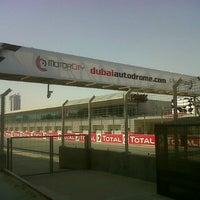 Photo taken at Dubai Autodrome by Peters P. on 10/12/2012
