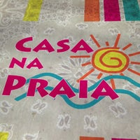 Photo taken at Casa na Praia by Camila V. on 6/1/2013
