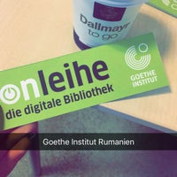Photo taken at Goethe-Institut by Anca M. on 10/25/2016