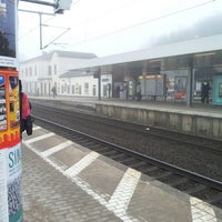 Photo taken at Bahnhof Pinneberg by Guenther C. on 4/8/2013