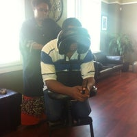 Photo taken at Dapper & Company Mens Grooming Lounge by Kenyetta C. on 4/16/2013