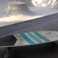 Photo taken at Bowl Globe Skate Park by Savamava on 11/14/2014