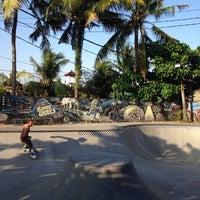 Photo taken at Bowl Globe Skate Park by Savamava on 6/19/2014