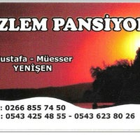 Photo taken at erdek õzlem pansiyon by Serdar Y. on 11/25/2013