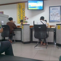 Photo taken at Bank BCA by donna i. on 1/3/2013