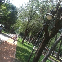 Photo taken at Yoğurtçu Parkı Tenis Kortu by Ilknur Y. on 4/29/2013