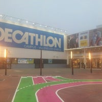 Photo taken at Decathlon by Olivier B. on 10/25/2012