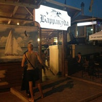 Photo taken at Ресторан на воде «Барракуда» by Denis Z. on 8/15/2013