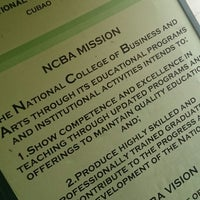 Photo taken at National College of Business and Arts (NCBA) by Clarice G. on 4/7/2014