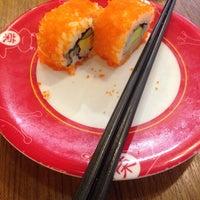 Photo taken at Sakae Sushi by Cik A. on 9/18/2014
