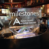 Photo taken at Milestones Grill & Bar by Harold S. on 4/28/2015