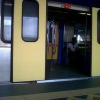 Photo taken at RapidKL Sentul Timur (ST11) LRT Station by Alynn s. on 1/15/2013