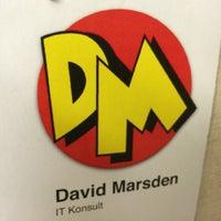 Photo taken at David Marsden - IT Konsult by David M. on 4/3/2014