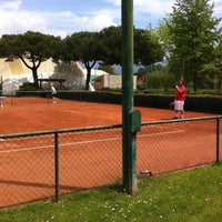 Photo taken at Tennis Riviera by Gianni D. on 5/9/2013