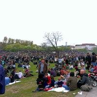 Photo taken at Görlitzer Park by mj b. on 5/1/2013
