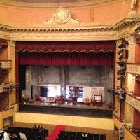 Photo taken at Teatro Storchi by Ilze S. on 5/23/2013