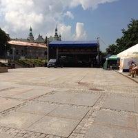Photo taken at Plac Artystów by Maciej B. on 6/8/2013