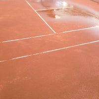 Photo taken at El Casco Tennis Club by Dmitry Z. on 4/4/2013